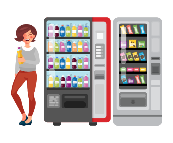Cold Drinks & Snack Machines - Hallmark Vending - Making Decisions